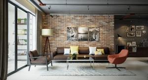 """Revestimentos cerâmicos rústicos """"bricks"""" do Studio Morandin"""